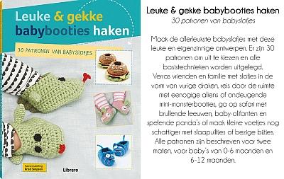Boek Leuke En Gekke Babybooties Haken Haak Boeken Boeken En