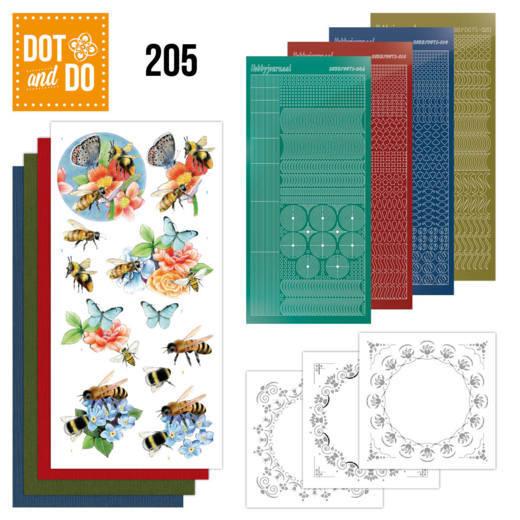 Dodo-205 Dot en do - Jeanine's Art - Humming Bees
