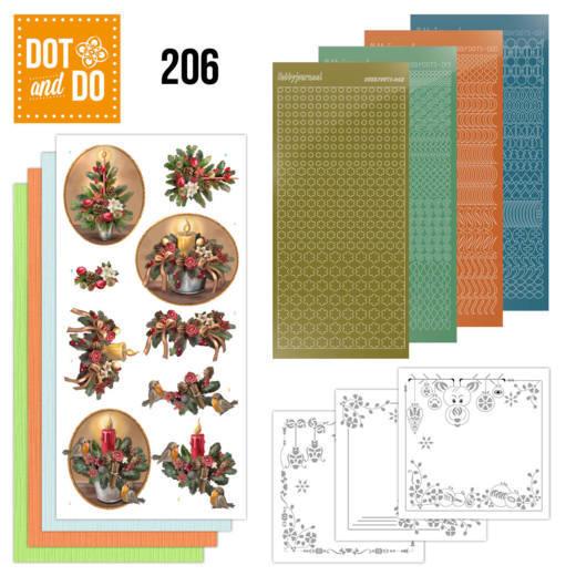 Dodo-206 Dot en do - Amy Design - History of Christmas