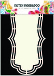 470713141 DDBD Dutch Shape art label A5