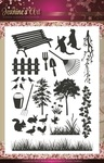 Jacs10001 Clearstamp Jeanines Art Garden