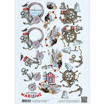 Cd10879 Amy Design knipvel Maritime