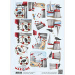 Cd10881 Amy Design knipvel Maritime
