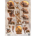 Cd10868 Amy Design knipvel Wild Animals