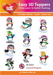 HC-8251 Easy 3d toppers pinguins