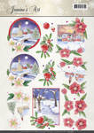 Cd10887 Jeaninnes Art knipvel Christmas