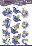 Cd10935 Knipvel Jeanines art Butterfly