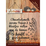 Yccs10034 Tekst Stempel YC Autumn colors