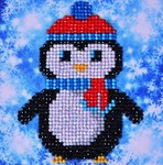 Dd2.023 Diamond Dotz Christmas Penguin