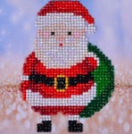 Dd2.029 Diamond Dotz Santa Claus Sack
