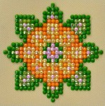 Dds.029 Diamond Dotz Flower mandala 1
