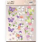 Cd11002 Knipvel Butterflys en flowers