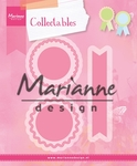 Col1444 Collectable Rosettes & labels