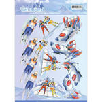 Cd11028 Knipvel Wintersports