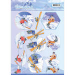 Cd11031 Knipvel Wintersports