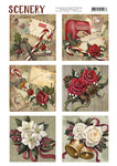 Cds10004 Scenery Christmas roses