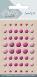 Cdeed012 Enamel Dots bright pink