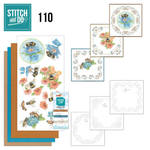 Stdo110 Stitch en Do - Bees and Flowers