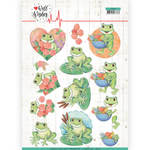 Knipvel Jeanine's Art Well Wishes Frogs