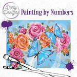 Painting by Numbers - Butterflies