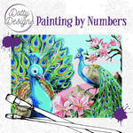 Painting by Numbers - Peacock