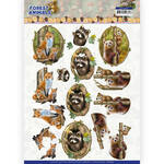 Cd11647 Knipvel Forest Animals - Fox