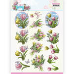 Cd11653 Enjoy Spring Bouquets of Tulips