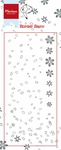 Ht1611 Clear stamp Border - Snow