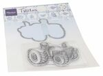 Ht1654 Clear stamp - Hetty's Tractor
