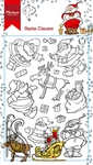 Ht1624 Clear stamp Hetty's Santa Clauses