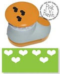 821E Paper Punch Hearts Accent