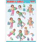 Cd11307 Knipvel Yc Bubble girls Shopping