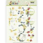 Cd11264 Knipvel - Happy spring Narcissen