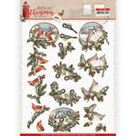 Cd11560 Ad Nostalgic Christmas - Birds