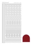 Stdm184 Hobbydots serie 18 Mirror Red