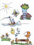 Dds3333 Clear stamp Theme: Summer