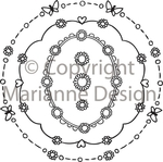 Dds3314 Clearstamp Daisy decorations